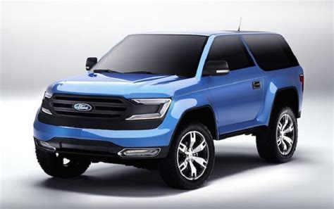 ford bronco price concept pictures interior specs