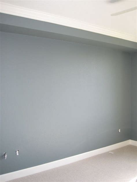 Wand Grau Blau by Wall Paint Color Is Martha Stewart Schoolhouse Slate