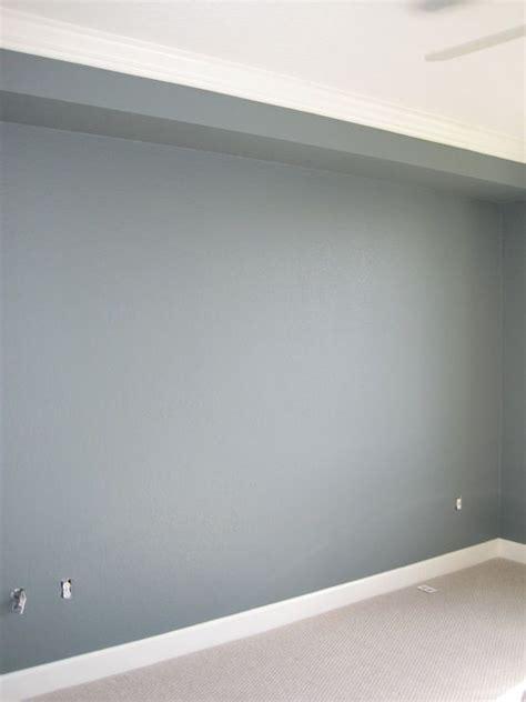 Wall paint color is Martha Stewart Schoolhouse Slate