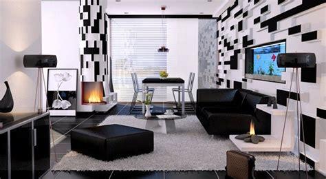 21 Fantastische Gestaltungsideen Fuer Schwarz Weisse Wohnzimmer 21 fantastische gestaltungsideen f 252 r schwarz wei 223 e