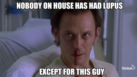 Lupus Meme - 17 best images about dr house on pinterest seasons foxes and gregory house