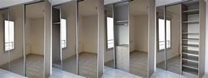 Dressing Avec Miroir : dressing portes coulissantes conception architecture sur ~ Teatrodelosmanantiales.com Idées de Décoration