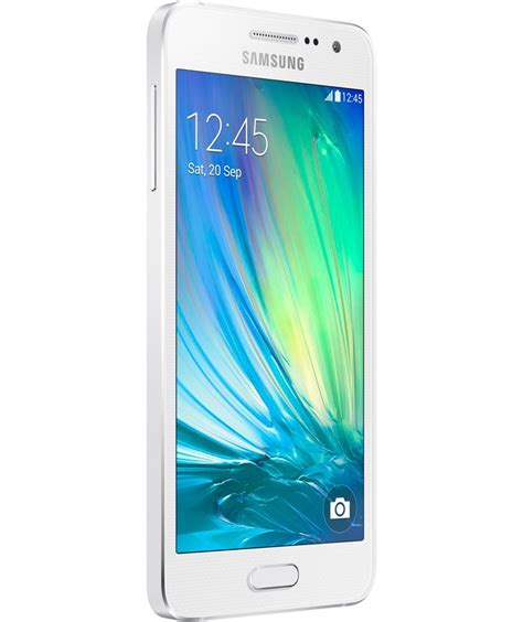 Samsung A3 Mobile by Buy Sim Free Samsung Galaxy A3 Mobile Phone White At