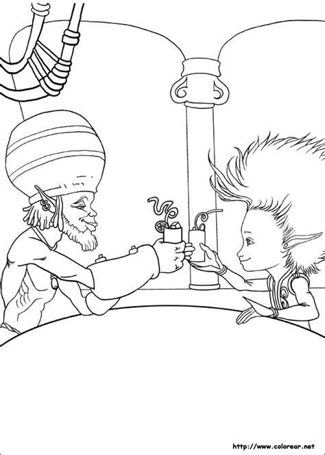dibujos  colorear de arthur  la venganza de maltazard