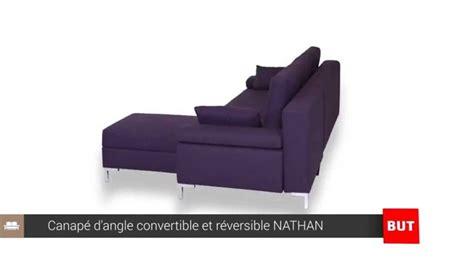 but canap canapé d 39 angle convertible et réversible nathan but