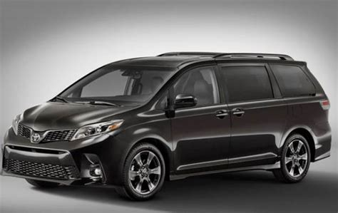 2020 Toyota Sienna Redesign Release Price