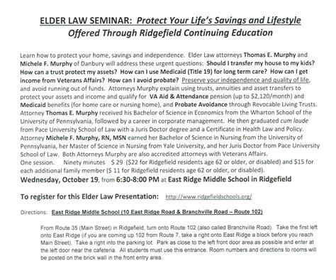 Seminars  Murphy Lawyermurphy Lawyer