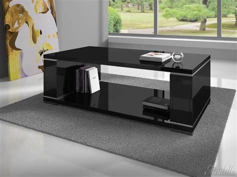 zwarte salontafel met lade salontafel limo hoogglans zwart meubella