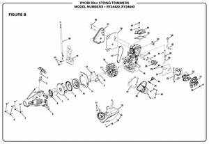 Ryobi Ry34440 30cc String Trimmer Parts And Accessories