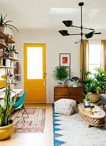 colorful decorating ideas for small living room With small space living room design