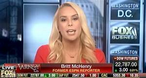 Britt McHenry tweets and deletes claim ESPN demoted her ...