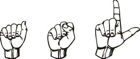 American Sign Language Asl Clip Art At Clker.com