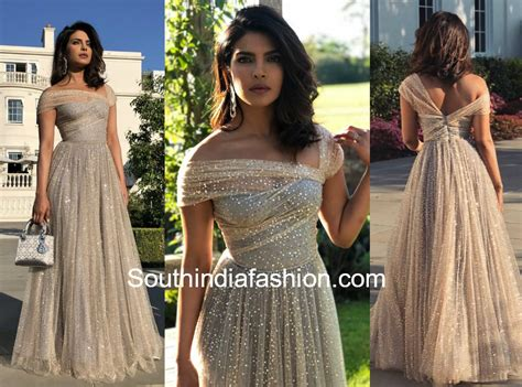 Priyanka Chopra Wedding Dress : Priyanka Chopra In Dior At Meghan Markle And Prince Harry