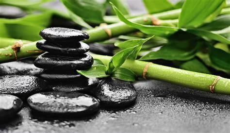 yeda design galets noirs zen avec bambous 82 50 euros