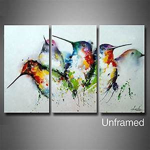 artland modern 100 hand painted unframed wall art With what kind of paint to use on kitchen cabinets for 3 piece wall art amazon