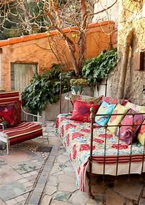 20 awesome bohemian porch decor ideas digsdigs With deco de terrasse exterieur 10 deco salon hippie chic