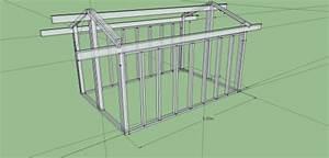 Plan Abri De Jardin En Bois Gratuit : on attaque la cabane de jardin le blog de samy73 ~ Melissatoandfro.com Idées de Décoration