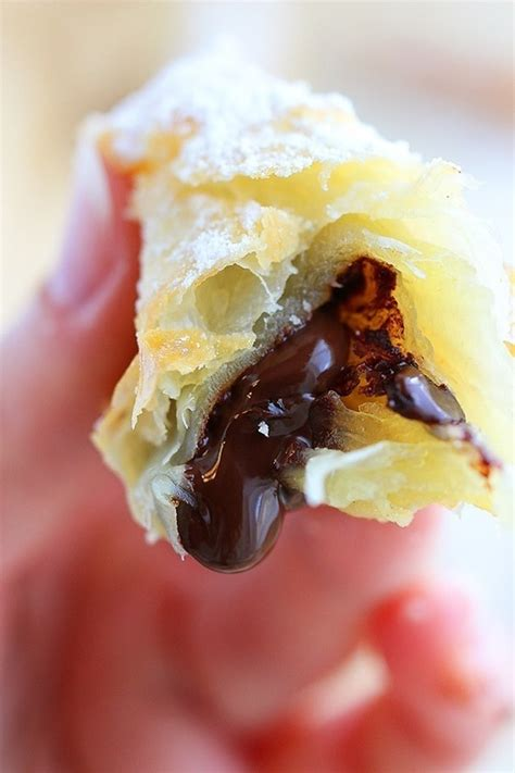 3 ingredient chocolate croissants so decadent yet so easy desserts croissant