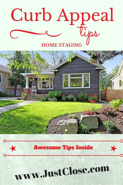 Home Staging Tips For Spring Curb Appeal Justcloseinfo