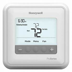 Honeywell Th4110u2005 T4 Pro Programmable Thermostat 1h  1c
