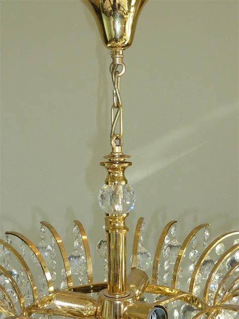 vintage chandelier attributed to swarovski
