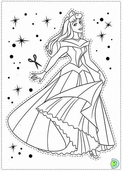 Sleeping Coloring Printable Belle Disney Aurora Dormant