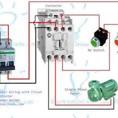 submersible pump control box wiring diagram for 3 wire single phase technology in 2019