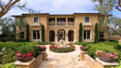 house plans italian style villa  description  description youtube