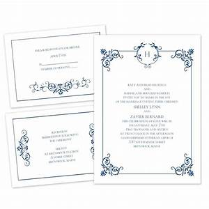 beautiful border separate and send invitation ann39s With wedding invitations date to send