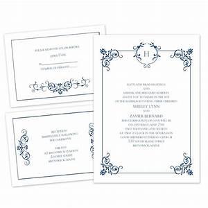beautiful border separate and send invitation ann39s With wedding invitations separate and send