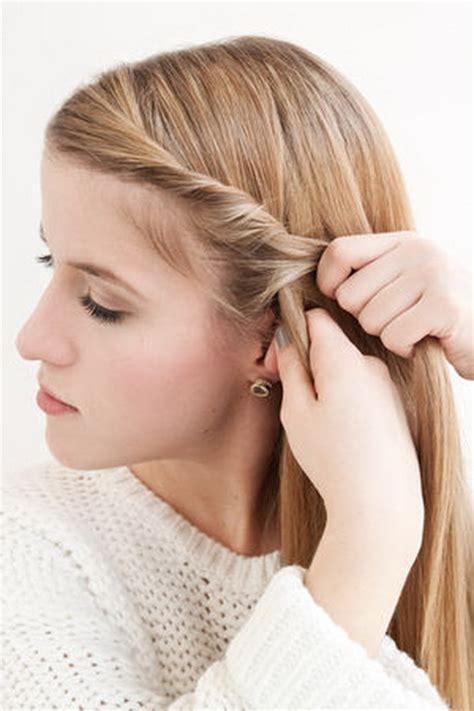 haarreifen für kurze haare einfache flechtfrisuren kurze haare