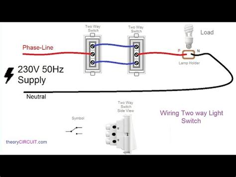 Wiring Two by Two Way Switch Connection Type 2 In Telugu Two Way