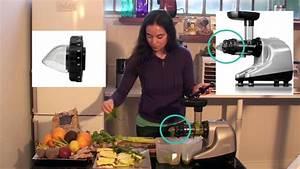 Jus Avec Extracteur : jus vert l 39 ananas avec l 39 extracteur zen et pur youtube ~ Melissatoandfro.com Idées de Décoration