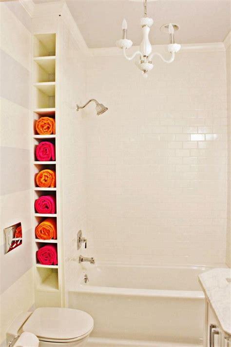 diy bathtub surround storage ideas hative