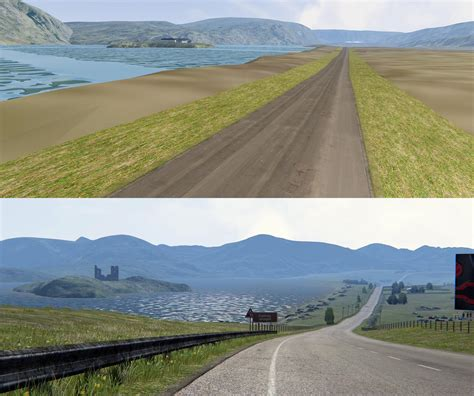 Making Of Previews of Assetto Corsa's Highland Track ...