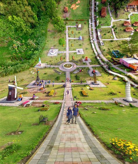 merapi park jogja wisata landmark dunia  fotogenik