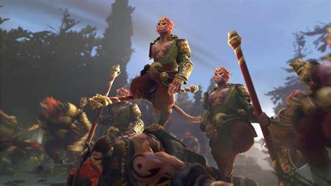 journey   monkey king  dota   fall