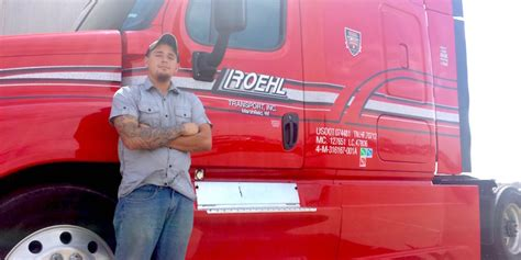 roehl transport jobs how one veteran found a great career in the trucking industry