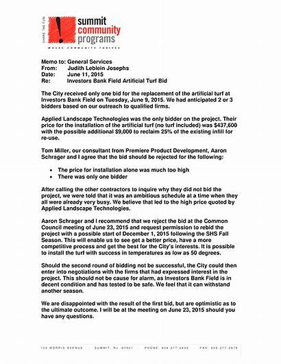 Bid Letter Rejection Formal Template Write Allbusinesstemplates