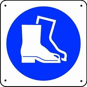 Ou Acheter Des Chaussures De Sécurité : panneau chaussures de s curit picto stocksignes ~ Dallasstarsshop.com Idées de Décoration