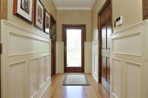 Painted Wainscoting by Ivory Painted Wainscoting Macik Custom Woodworking