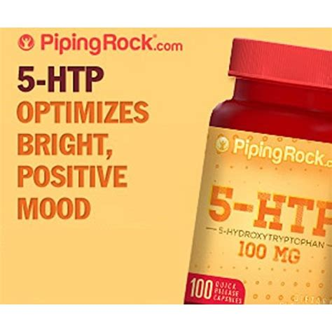 Buy Piping Rock 5-HTP 100 mg 2 x 100 Caps | ShopHealthy.in