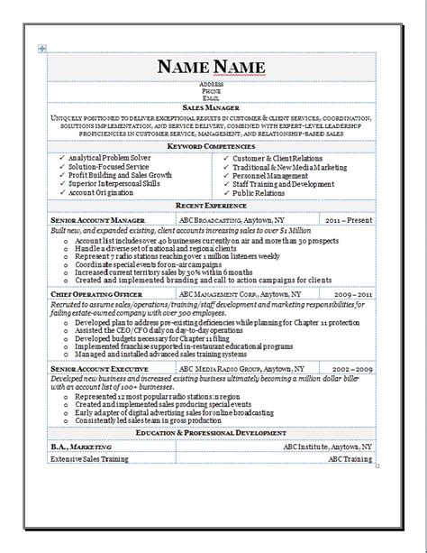 View Resumes by New View Exle Of Resume Exle