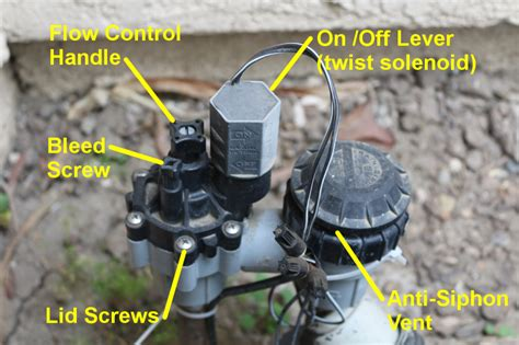 anti siphon valve controls irrigation tutorials