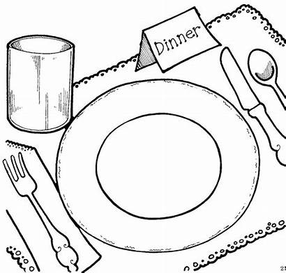 Dinner Clipart Clip Related Advertisement