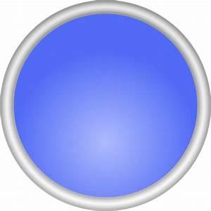 Shiny Blue Circle clip art Free Vector / 4Vector