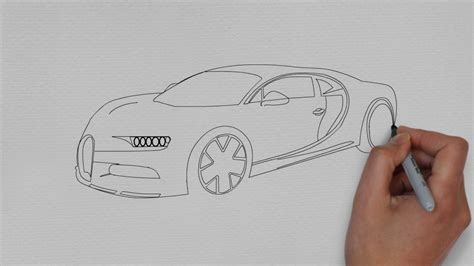 It takes me something about 30 houers. how to draw Bugatti Chiron (cars drawing) - YouTube