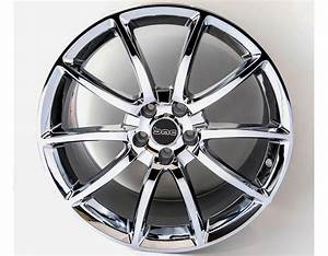 Mustang GT500 Style Chrome 20inch Wheels, Staggered Set 2005-2016