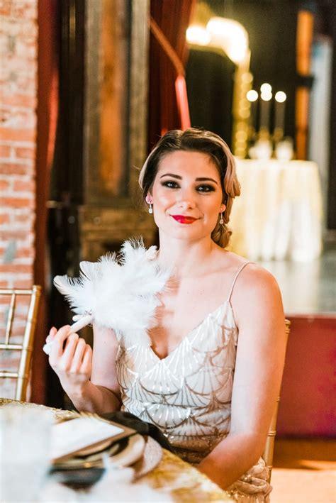 Great Gatsby Themed Wedding POPSUGAR Love &Photo 29