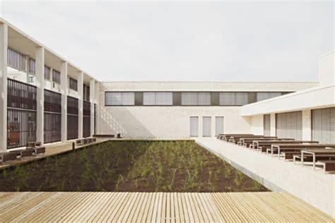 Riedberg Gymnasium In Frankfurt by Ackermann Raff T 252 Bingen Architekten Baunetz